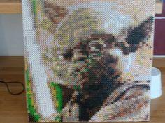 Yoda perler beads by Johannas pysselhörna