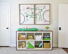 changing table - ikea hack