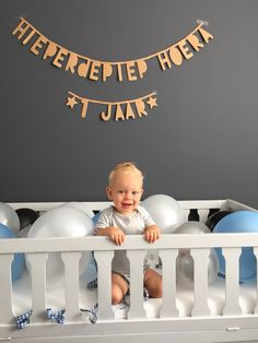 Meer dan 1000 afbeeldingen over hoera 1 jaar op pinterest natal baby verjaardag en - Idee deco slaapkamer jongen jaar ...