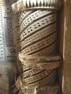 Pillars inside Sahastrabahu temple   Gwalior, Madhya Pradesh, India  Tourism, Tourist, Photography Madhya Pradesh, Temple, Tourism, India, Sculpture, Photography, Turismo, Goa India, Photograph