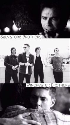 Salvatore and Winchester // The Vampire Diaries and Supernatural