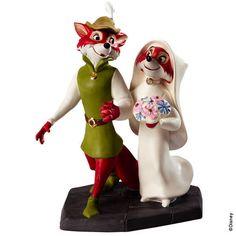 *ROBIN HOOD & MARIAN ~ WDCC Disney Robin Hood & Maid Marian Merry Matrimony Figurine   eBay $150 ITS PERFECT!