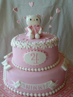 Hello Kitty Birthday Cake Cake Inspiration Pinterest Hello