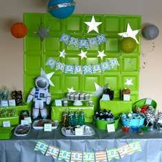 Blast off! Space Birthday Party - Astronaut / Outer Space