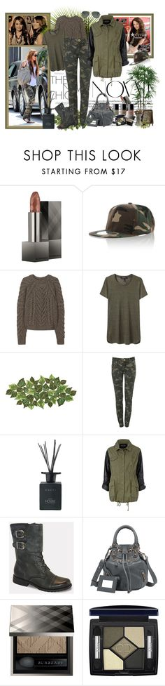 """Miley Cyrus' Military-Style"" by firstclass1 ❤ liked on Polyvore featuring Burberry, Chanel, Ciel, Ballard Designs, Isabel Marant, Kim Seybert, Parisian, Culti, River Island and Bucco"