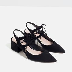 HIGH HEEL SLINGBACK SHOES-View all-SHOES-WOMAN | ZARA United States