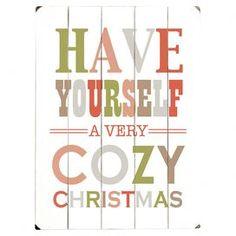 Cozy Christmas Wall Decor