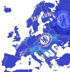 Europe is Blue, Chelsea Blue that is...