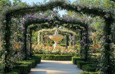 La Rosaleda del Parque del Retiro MADRID