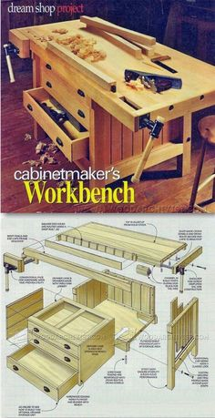 Cabinet Makers Workbench Plans - Workshop Solutions Projects, Tips and Tricks   WoodArchivist.com