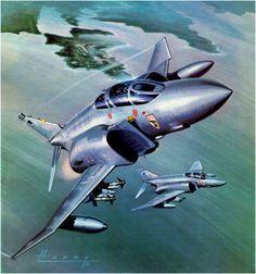 F-4E Phantom RAF (Wilfred Hardy)