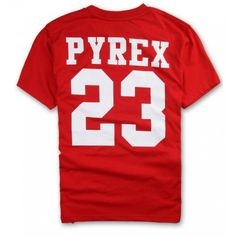 "Be champions with Pyrex! Pyrex ""Champions 23 Text Print"" T-Shirt Collection at fusionswag.com #fusionswag #Pyrex #tees #tshirt #streetfashion #streetwear #urbanwear"