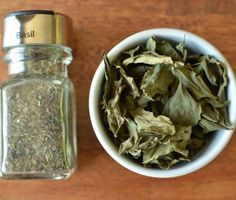 Kids Activity- Home Dried Basil | Healthy Ideas for Kids