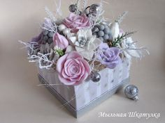 Exploding Box Card, Explosion Box, Gift Boxes, Soap Making, Floral Wreath, Scrapbooking, Wreaths, Gifts, Crates