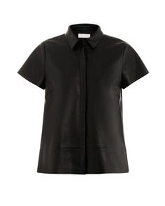 AR A-line leather top