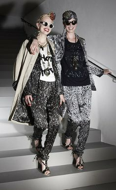 lanvin cruise 2012 - Never before have I wanted so badly to afford designs from Lanvin. The pieces from the Lanvin Cruise 2012 collection feature a print that drips wit. Runway Fashion, Fashion Show, Fashion Design, Pj Day, Silk Pants, Fashion Stylist, Fashion Advice, Fashion Ideas, Lanvin