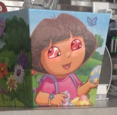 Dora the Explorer with multiple eyes ~ Funny You Had One Job Fails