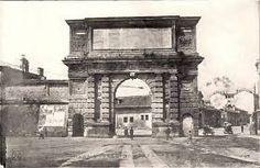 la vecchia Porta Romana
