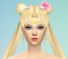 Princess Serenity and Neo Queen Dress, Crowns, Wand… at SilverMoon Sims • Sims 4 Updates