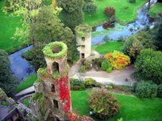 Blarney Castle in County Cork Ireland