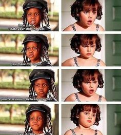 Little rascals! Now I get why everyone says that you the scuuum between toes ha