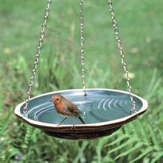Hängande vattenskål, tvåfärgad - Fågelbad - Fågelbad - Vivara