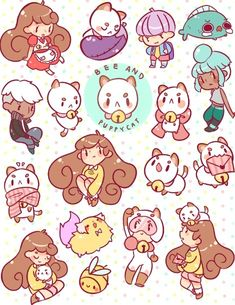 bee and puppycat | Kaiami | Bee and Puppycat Stickers | Online Store Powered by Storenvy