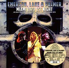 Emerson, Lake & Palmer – Miami 1973 1st Night (Virtuoso 344/345) is a 2CD set from Jai Alai Fronton, Miami, Florida on November 14th, 1973.