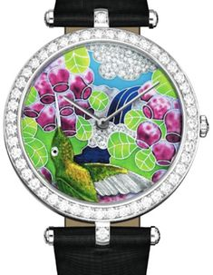Van Cleef and Arpels Unveils Collection of Hummingbirds Watches