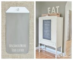 City Farmhouse: Benjamin Moore Texas Leather