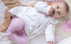 La robe layette blanche