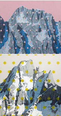 David Pirrie - large scale paintings <3