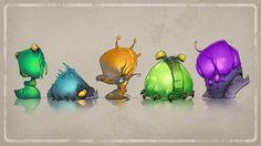 Quest 4 Booty Glow Slugs by CreatureBox