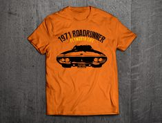 Plymouth roadrunner shirts, Road runner t shirts, Cars t shirts, men tshirts, women t shirts, muscle car shirts classic dodge t shirt by MotoMotiveInk on Etsy