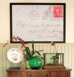 Blow up that treasured letter from Grandma and frame it!