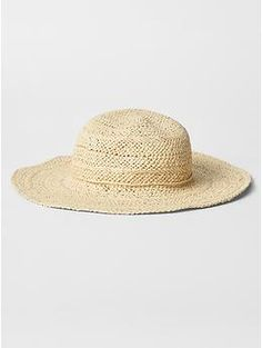straw hat for baby . love this for spring and summer . baby fashion