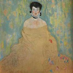 Gustav Klimt Amalie Zuckerkandl 1918 print