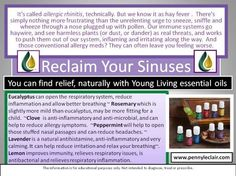 Reclaim your #Sinuses  #EssentialOils