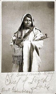 Ke-bay-nah-kay - Ojibwa - circa 1860