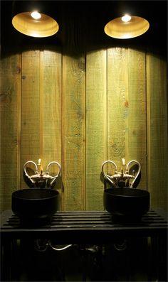Quai Montréal, 2010 by La Firme Bathroom Interior Design, Gallery, Lamp, Lighting Design, Gas, Bar, Picture Gallery, Arch Interior, Gas Lamp