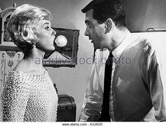 LOVER COME BACK (1961) - Rock Hudson - Doris Day - Tony Randall - Edie Adams - Jack Oakie - Jack Kruschen - Directed by Delbert Mann - Universal Pictures - Publicity Still.