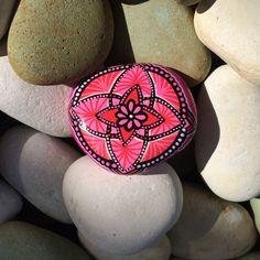 Hand painted mandala stones, hand painted rock, stones, mandala rocks
