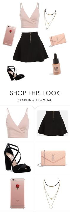 """""""Untitled #3"""" ❤ liked on Polyvore featuring Parker, Nina, Yves Saint Laurent, ETUÍ and Topshop"""