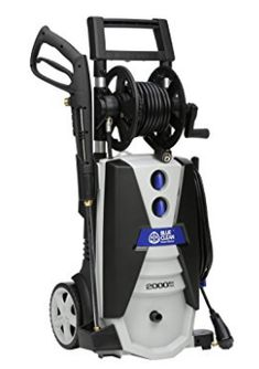 AR Blue Clean 2000 psi Electric Pressure Washer with Spray Gun Best Pressure Washer, Pressure Washers, Garden Hose, Lawn And Garden, Residential Cleaning, House Siding, Gun, Electric, Patio