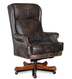 Shop Mason Leather Desk Chair from Hooker Furniture at Horchow, where you'll find new lower shipping on hundreds of home furnishings and gifts.