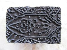 Wooden Stamp Antique Asian Handcarved by ShadyGrovePottery on Etsy, $56.00