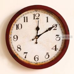 Modelos de explosão europeia para fazer o velho ferro forjado sala decorativo relógio de parede alishoppbrasil Wall Clocks, Barber, Picture Clock, Chiming Wall Clocks, Barbershop
