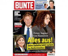 BUNTE Heft 432/2015 auf dem Cover: Ernst August von Hannover - Alles aus!