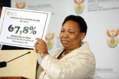 Minister_for_Education_Angie_Motshekga_Matric_Results Education, Learning, Teaching