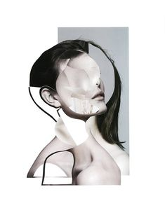 Collages by Laurie Basset on www.inspiration-now.com